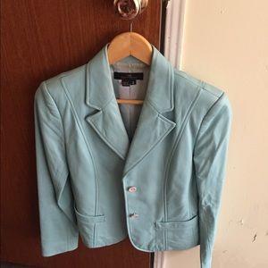 Ladies leather jacket. Size 2